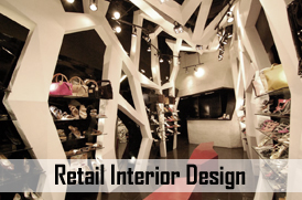 Retail Interior Designer in mumbai